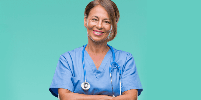 Female Healthcare Provider Smiling
